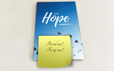 "I put a Post-it note on the Gospel saying ""read me, keep me""!"